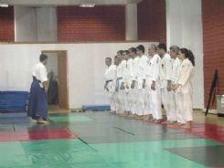 İlk resmi aikido çalışmaları
