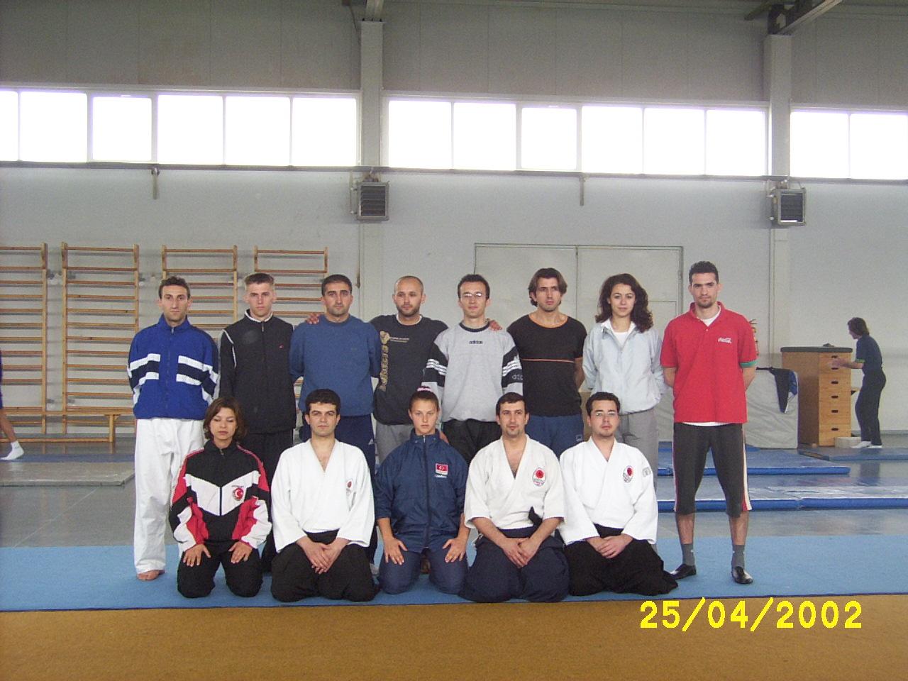Uludağ Üniversitesinde Aikido dersi