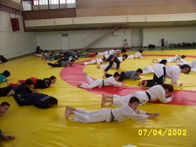 Çocuk Esirgeme Kurumunda Judo Çalışması
