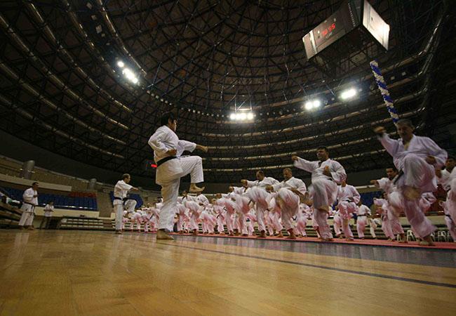 Dünyanın Efsane Karate Ustası Türkiyede