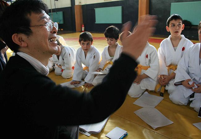 Japonca Dil Kursu Çalışması
