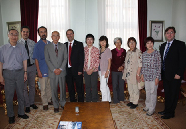 Hokkaido Japon Türk Dostluk Derneği Bursadaydı