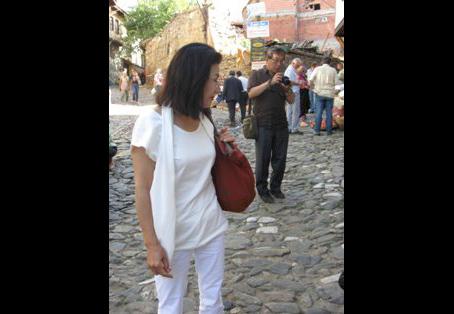 Dünyaca ünlü Ressam S.Sawada Hanım Türkiyede