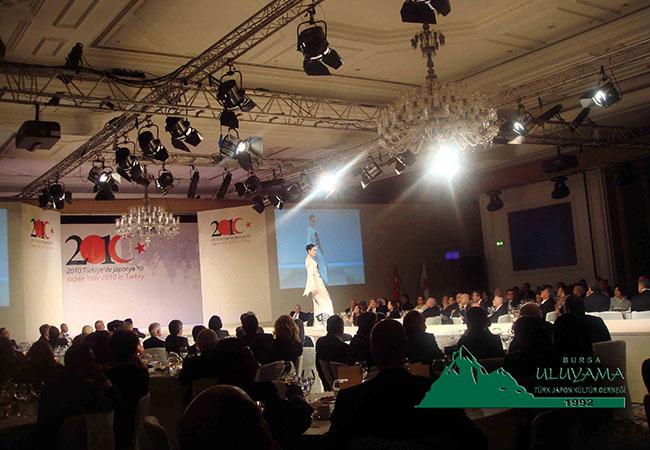 2010 Türk Japon Yılı Çırağan Sarayında Kutlandı