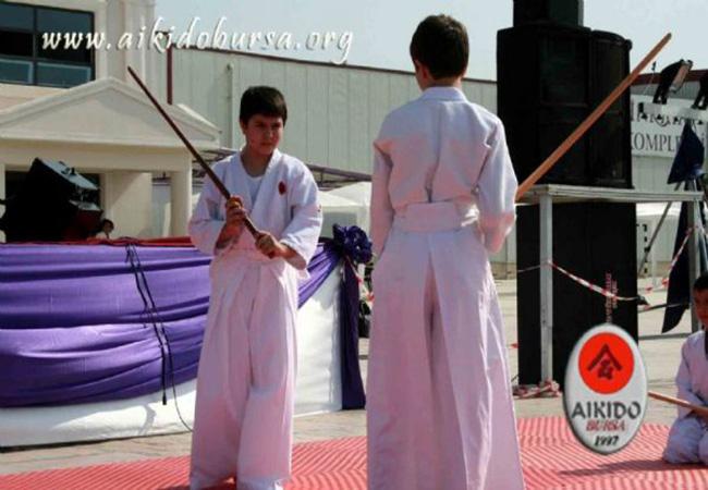 Şahinkaya Okullarında Aikido Gösterisi