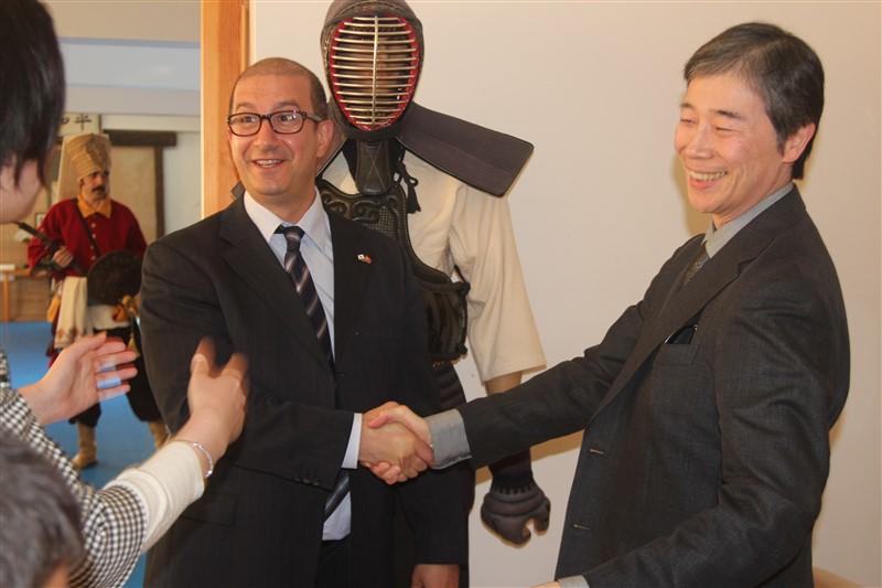 Japonya Başkonsolosu Ziyareti 2014
