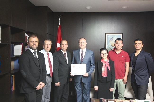 Tokyo Türk Büyükelçiliği ziyareti