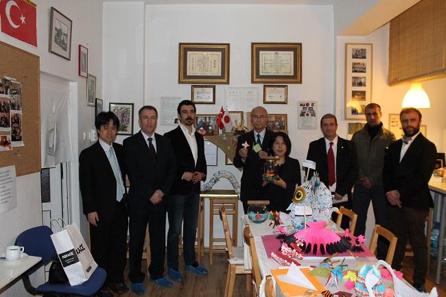 Japonya Başkonsolosu N. Ehara derneğimizi ziyaret etti