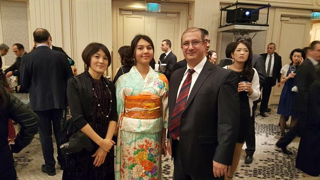 2017 Japonya Başkonsolosluğu Kokteyli