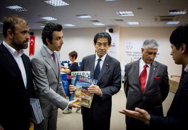 Japon Parlamenterlerin Bursa Ziyareti